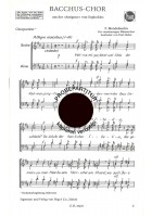 Bacchus-Chor