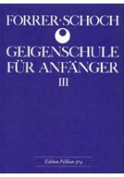 Geigenschule für Anfänger Vol. 3