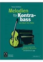 Melodien für Kontrabass - von Bach bis Holst