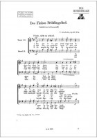 Des Finken Frühlingslied op 97/4