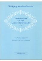 Konzert KV 203 (Colloredo-Serenade)