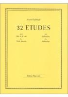 32 Etüden