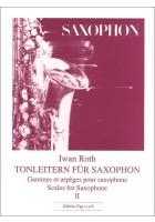 Tonleitern Saxophon 2