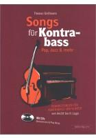 Songs für Kontrabass -  Rock, Pop, Jazz,