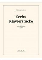 6 Klavierstücke op. 20