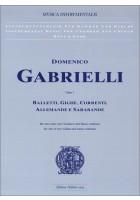 Balletti Gighe Correnti op. 1