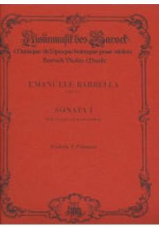 Sonate No 1