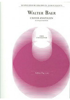 Cahier Anatolien