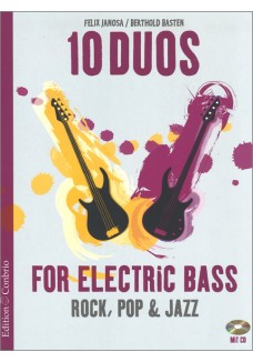 10 Duos for Electric Bass