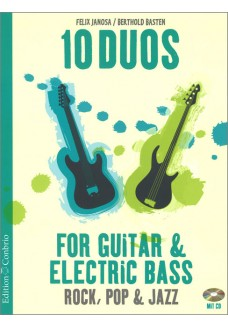 10 Duos for Guitar & Electric Bass