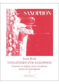 Tonleitern Saxophon 1