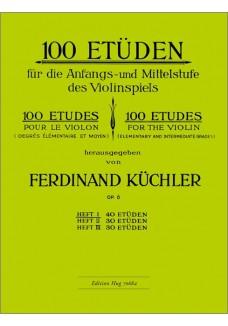 100 Etüden op 6 - 1