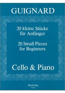 20 kleine Stücke